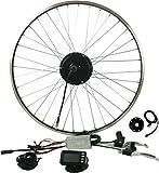 Prystel 26PD - Kit para Bicicleta eléctrica de 26' (Rueda Delantera, 36V/250W) Color Negro