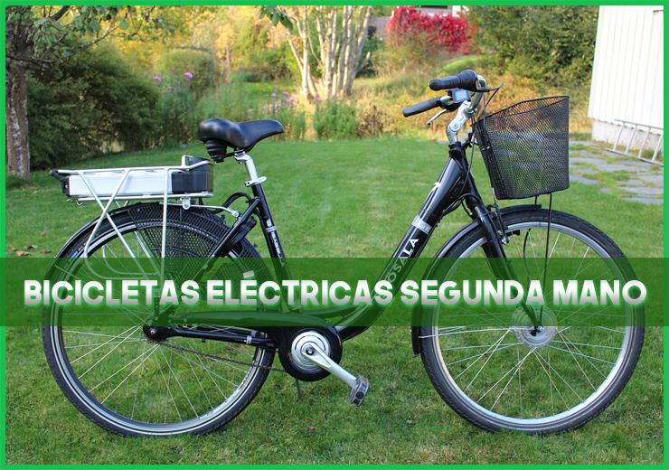Bicicletas eléctricas segunda mano